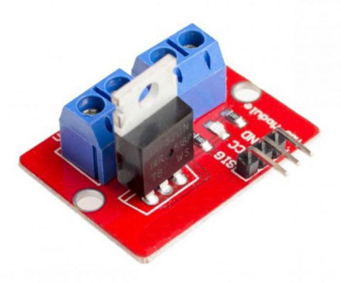 Irf Mosfet Module X on Arduino Mos Fet Motor Control