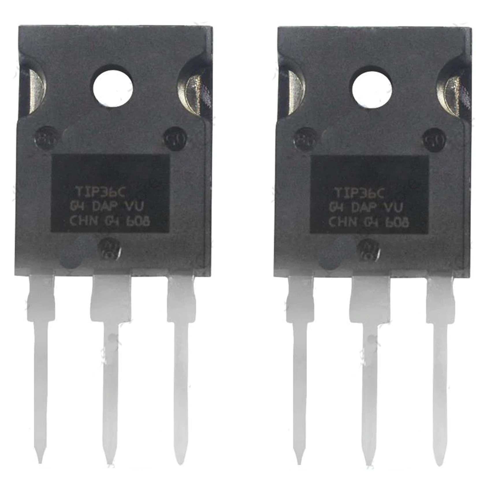 2 X Tip36c Pnp Power Transistor To 247 All Top Notch