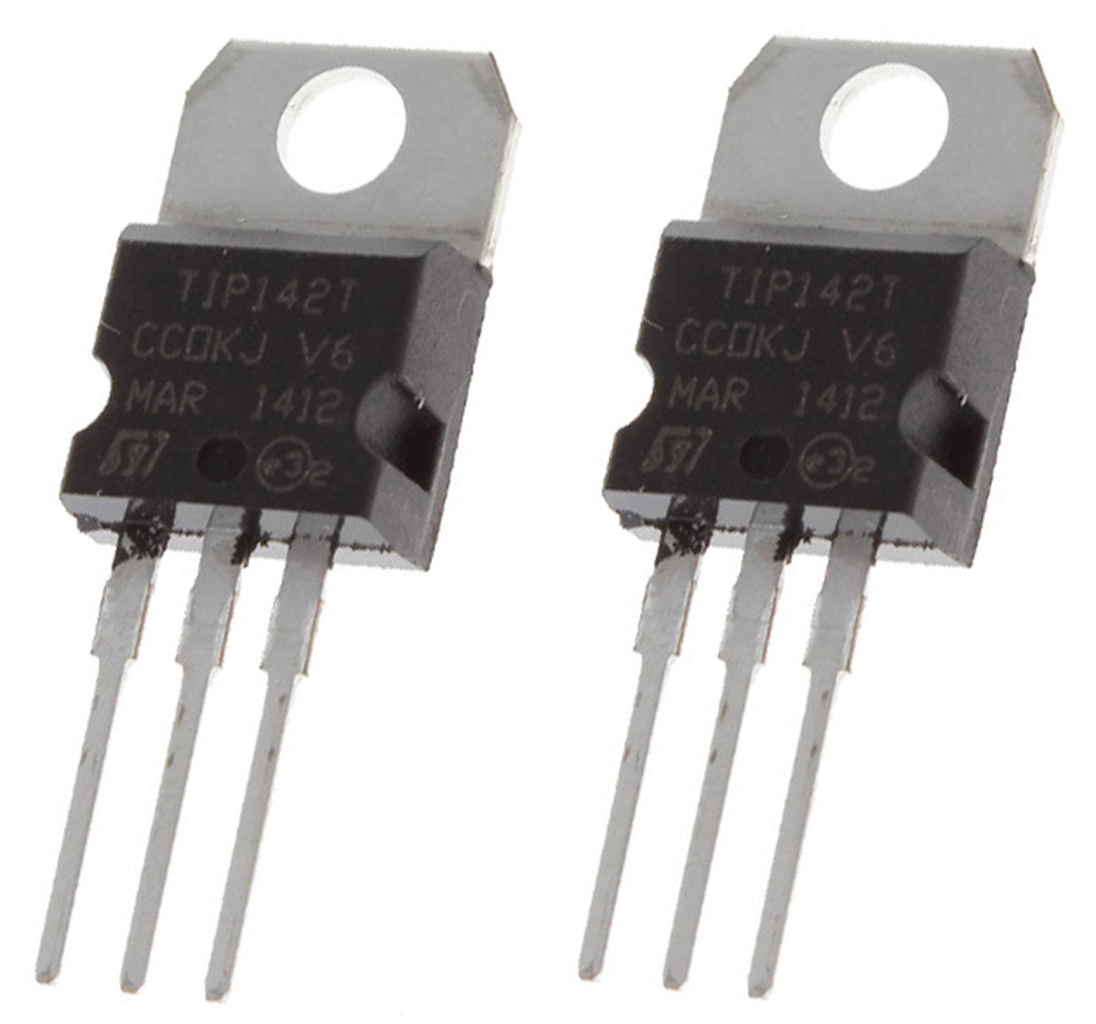 2 X Tip142t Npn Epitaxial Planar Silicon Darlington Transistor To Configuration