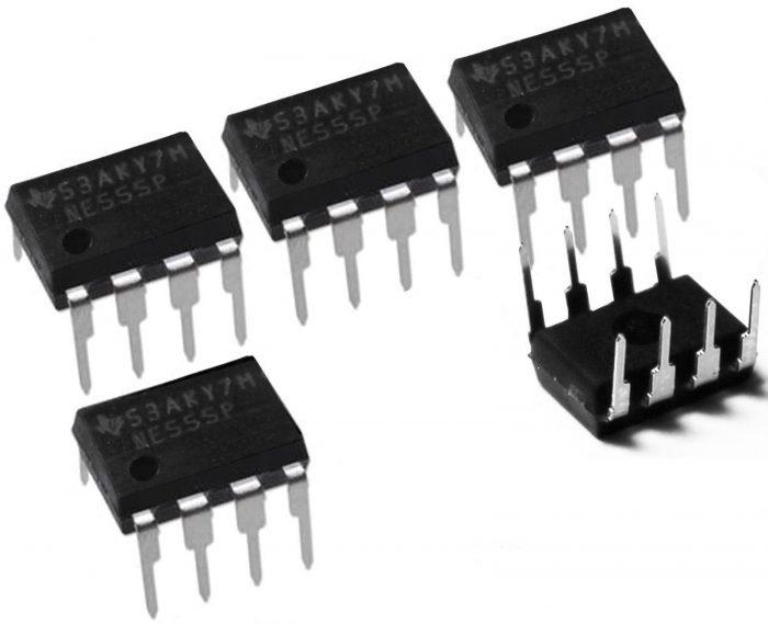 5 X 555 Temporizador IC-componente electrónico