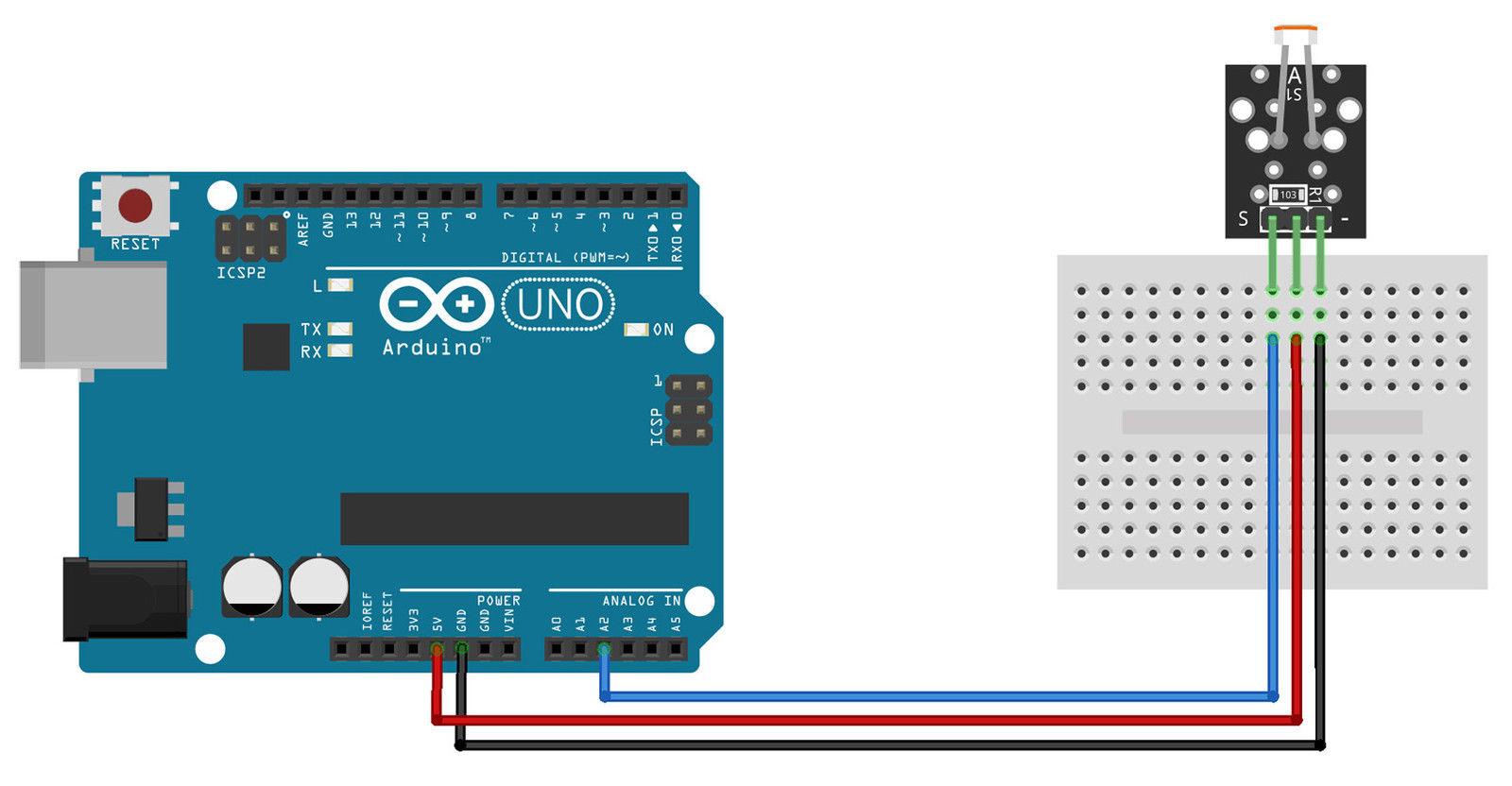 Ky 018 Ldr Photoresistor Sensor Module All Top Notch Light Dependant Resistor Circuit