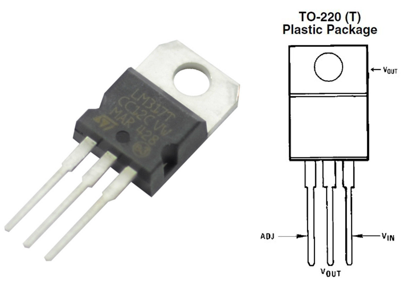 5 X Lm317 Positive Voltage Regulator To 220 All Top Notch Switching Circuit Using Schematic