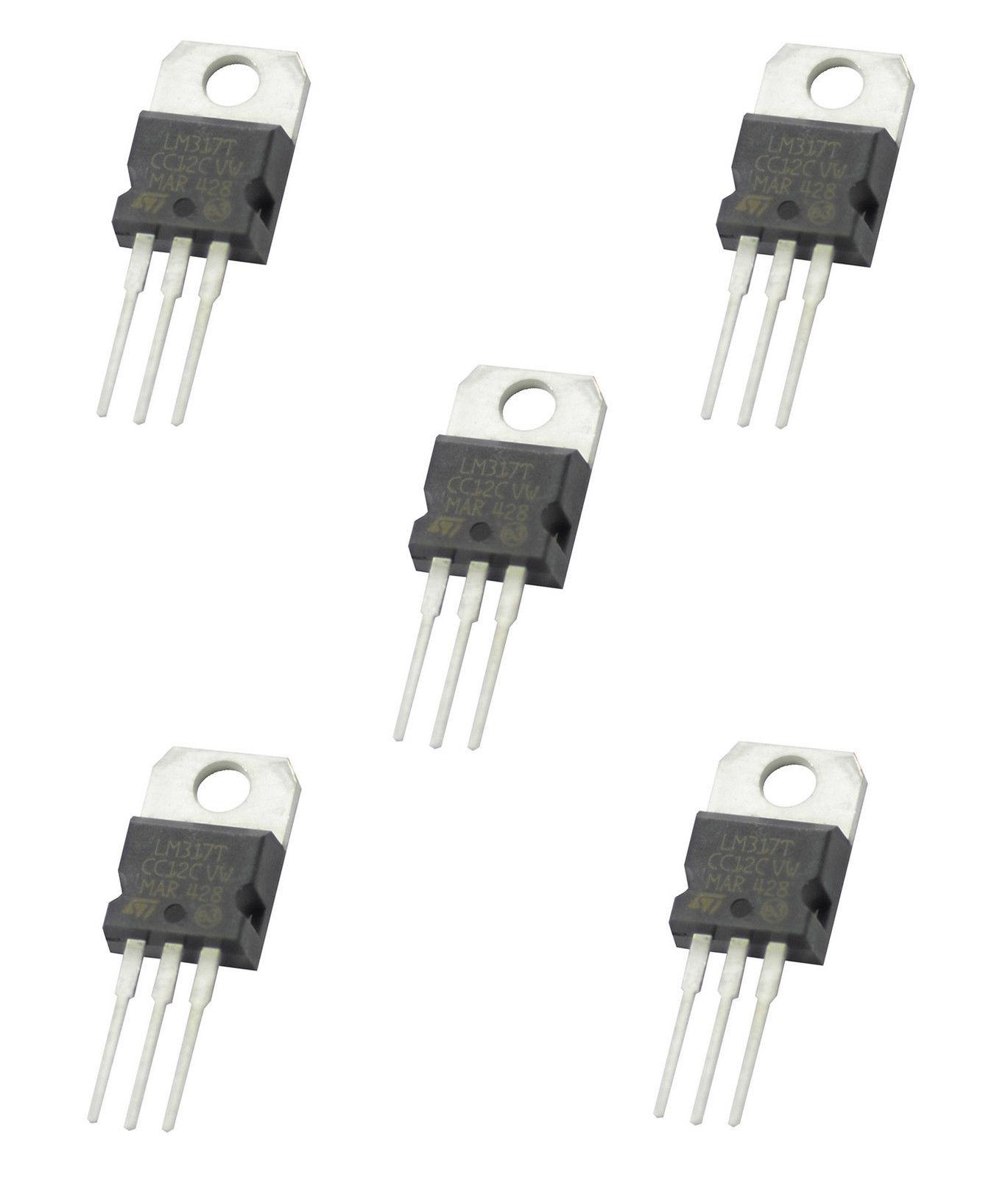 LM317T Voltage Regulator Pack of 5