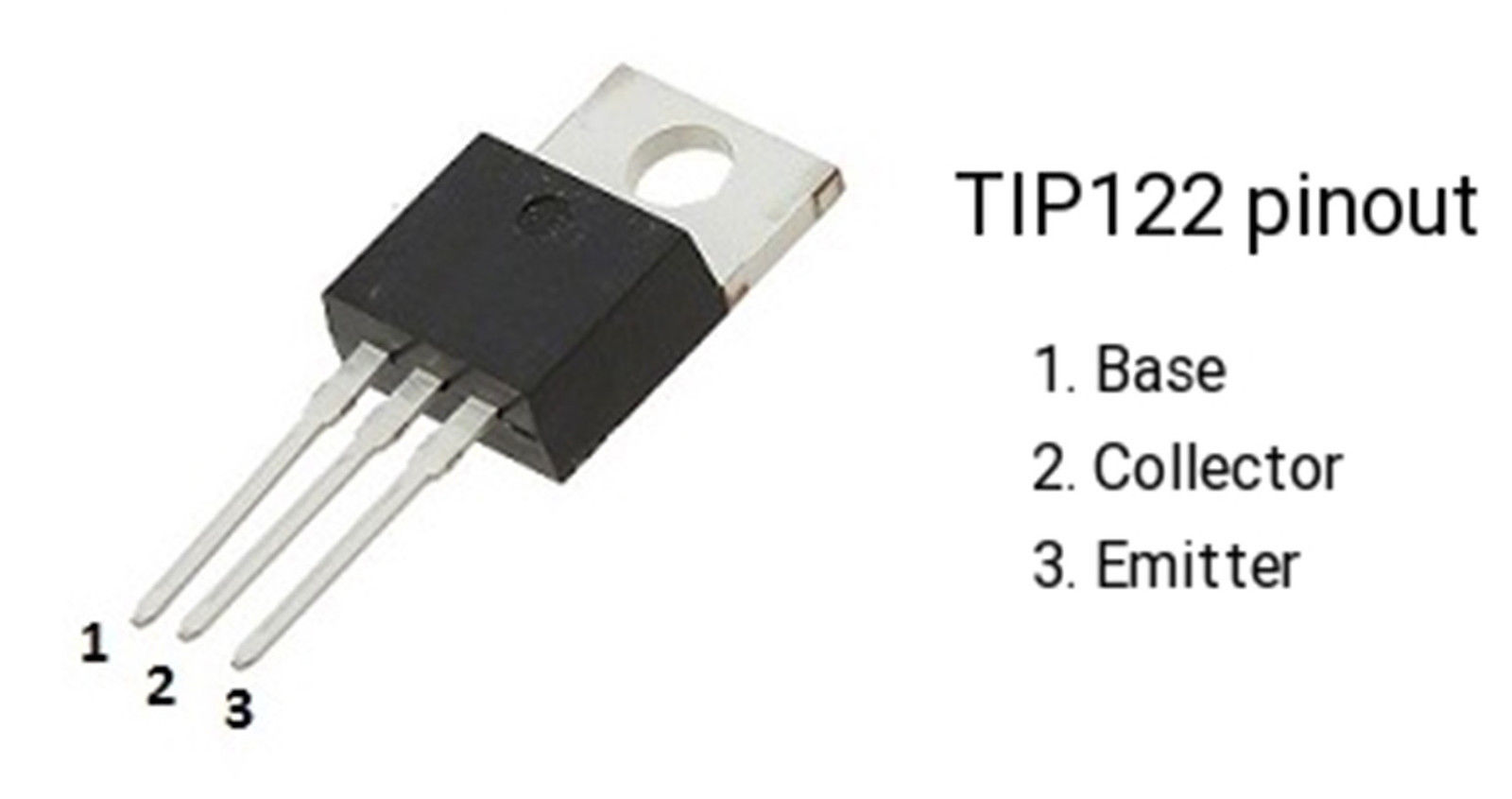 5 X Tip122 Npn Silicon Darlington Transistor To 220 All Top Notch Configuration