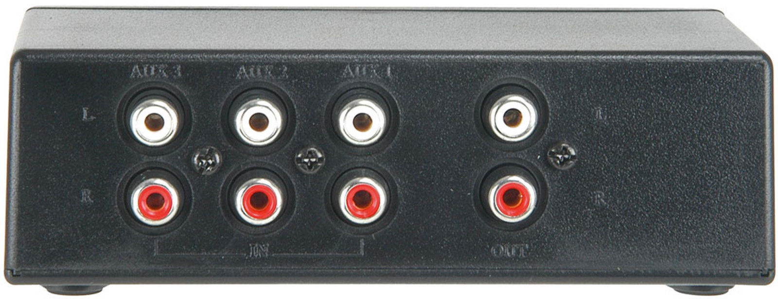 3 Way Stereo Audio Switch All Top Notch 2 Phono Box