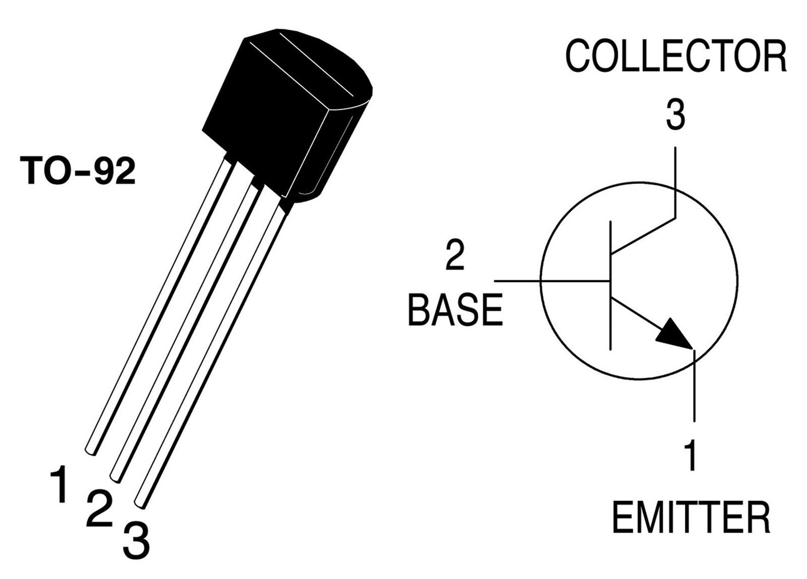 10 X Bc547 Npn Transistor To 92 All Top Notch Diagram