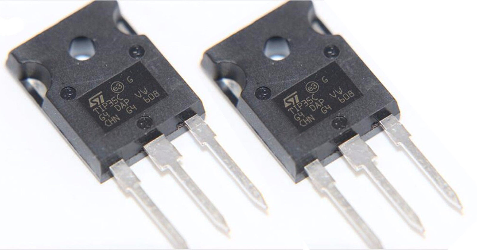 2 x TIP35C NPN Power Transistor TO-3P | All Top Notch