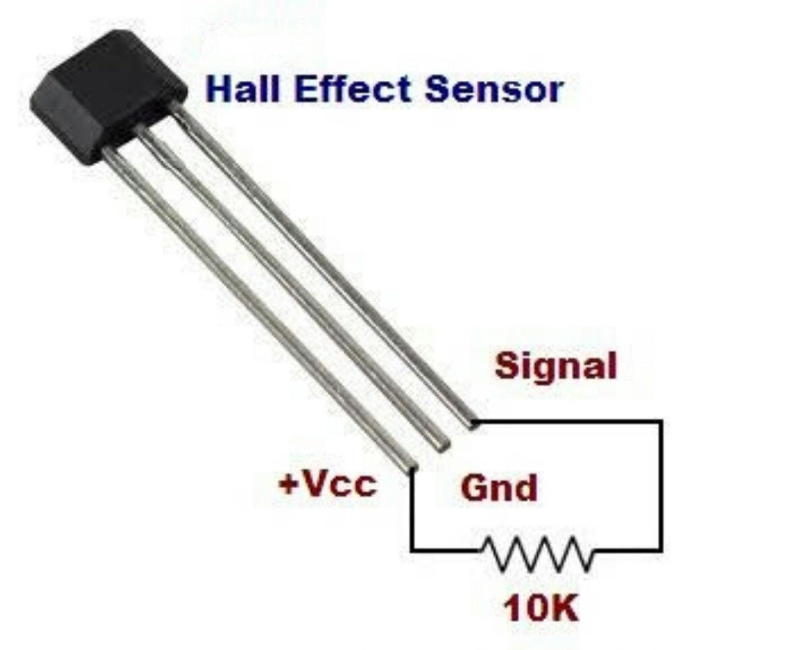 5 X A3144 Hall Effect Sensor Switch All Top Notch Circuits
