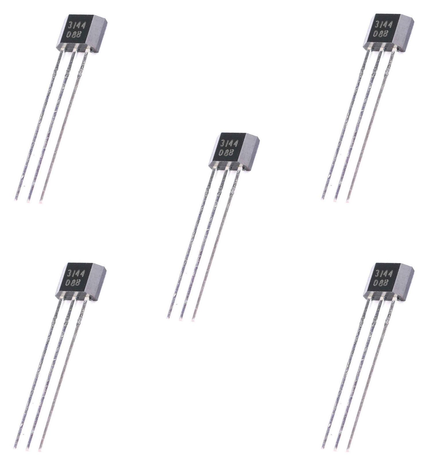 5 x a3144 hall effect sensor switch
