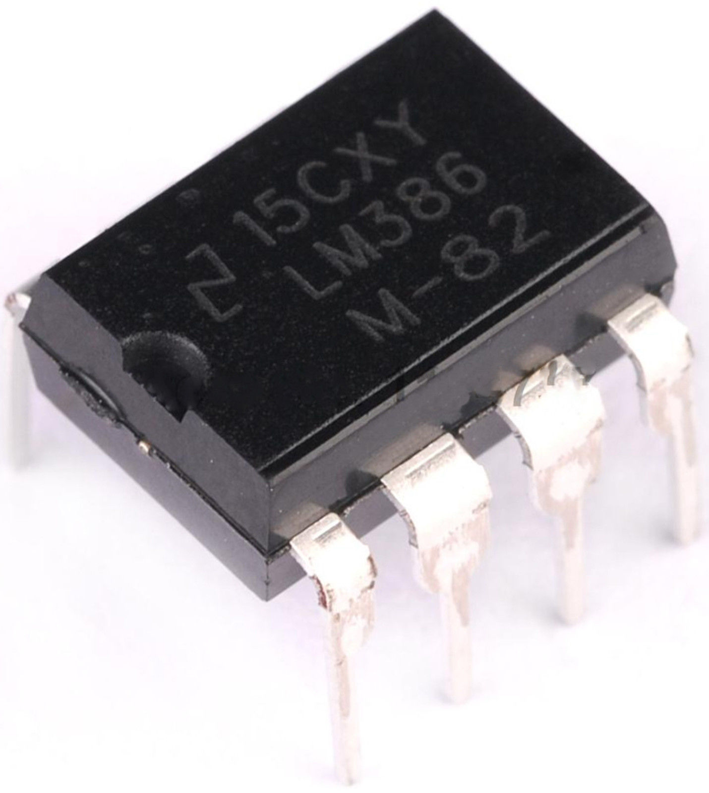 5 X Lm386 Low Voltage Audio Power Amplifier Dip8 All Top Notch Working Operation Of Ic