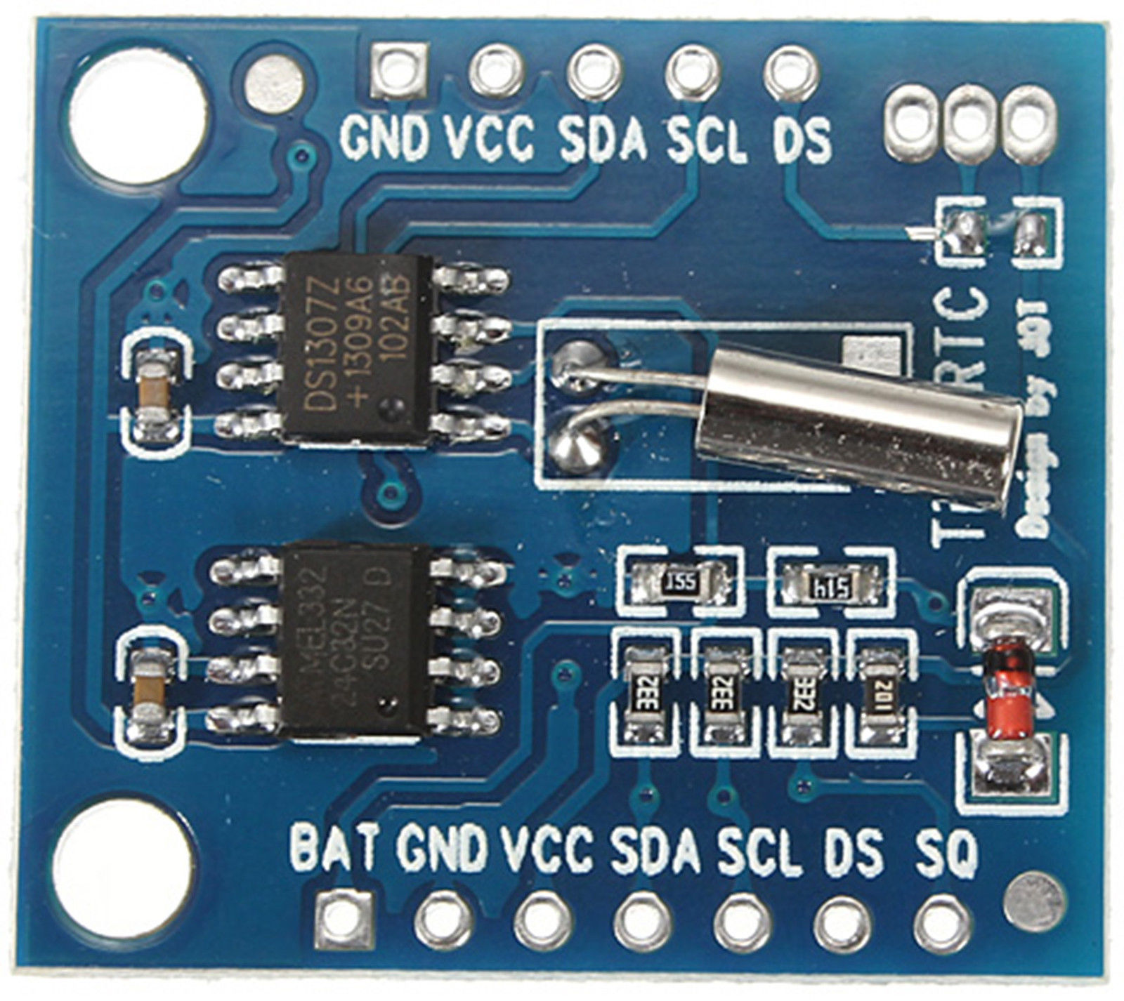 Ds1307 Rtc Real Time Clock All Top Notch Ds1307realtimeclockschematic