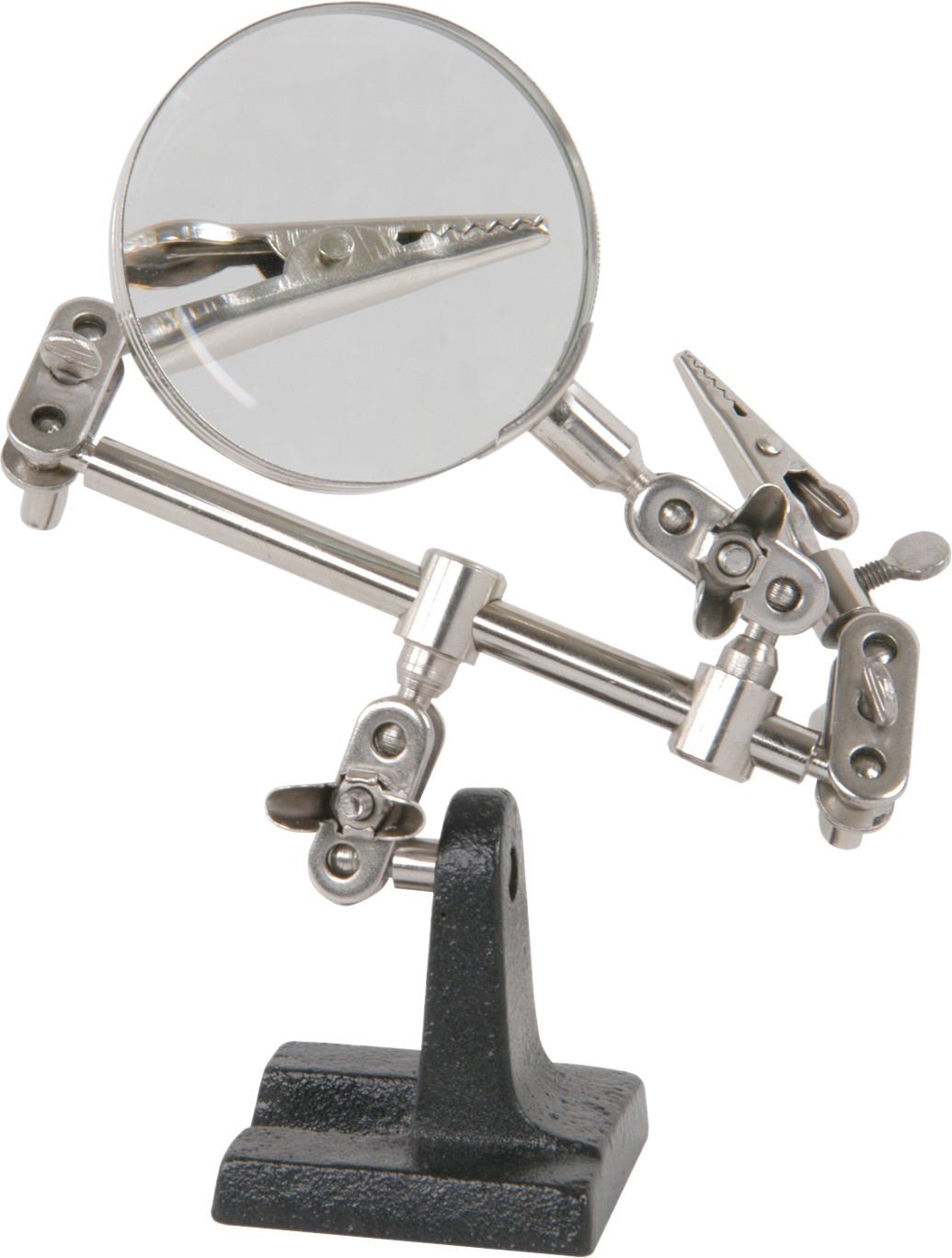 Helping Hands And Magnifier All Top Notch